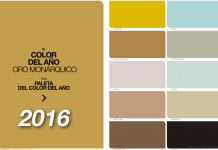 tendencias de color y paleta para 2016